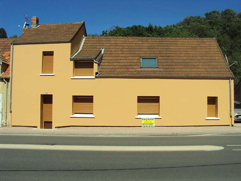 renovation facade vichy