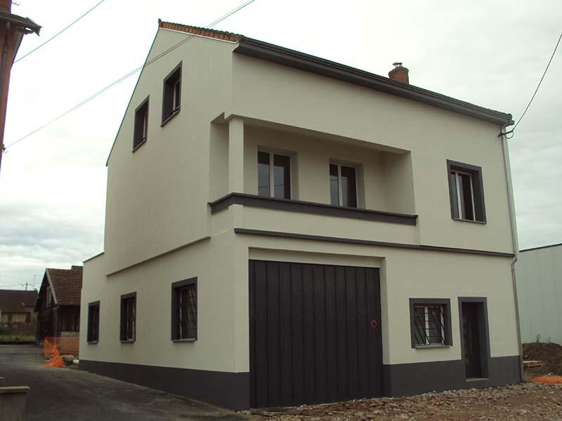 renovation facade clermont