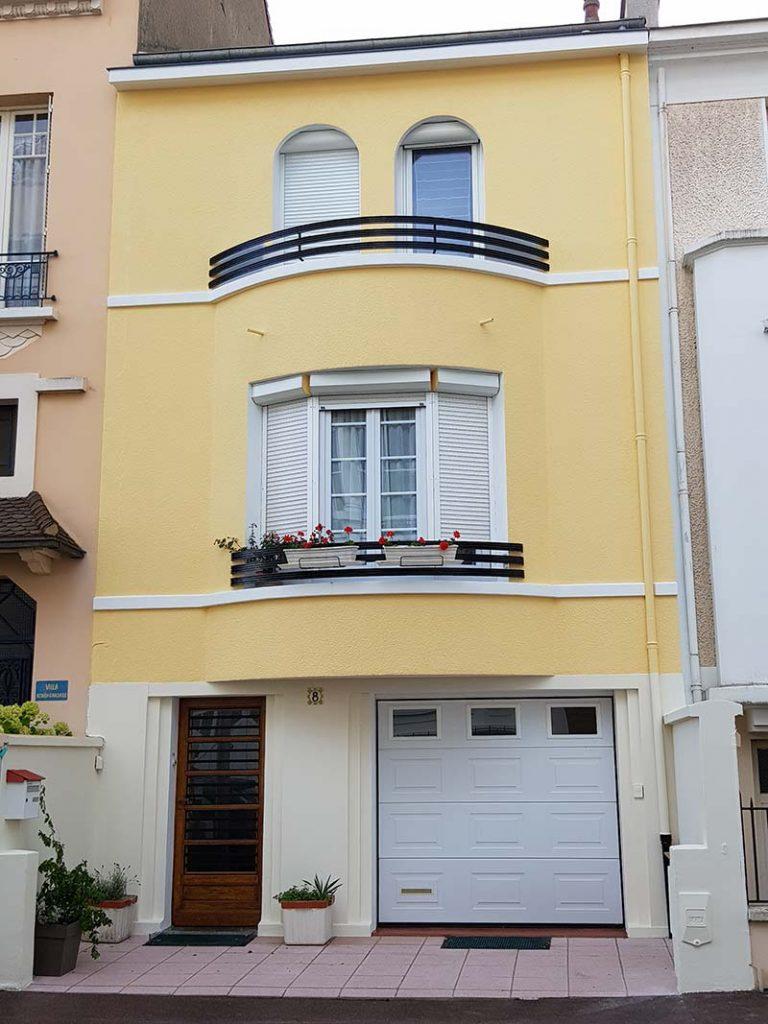 renovation facade roanne