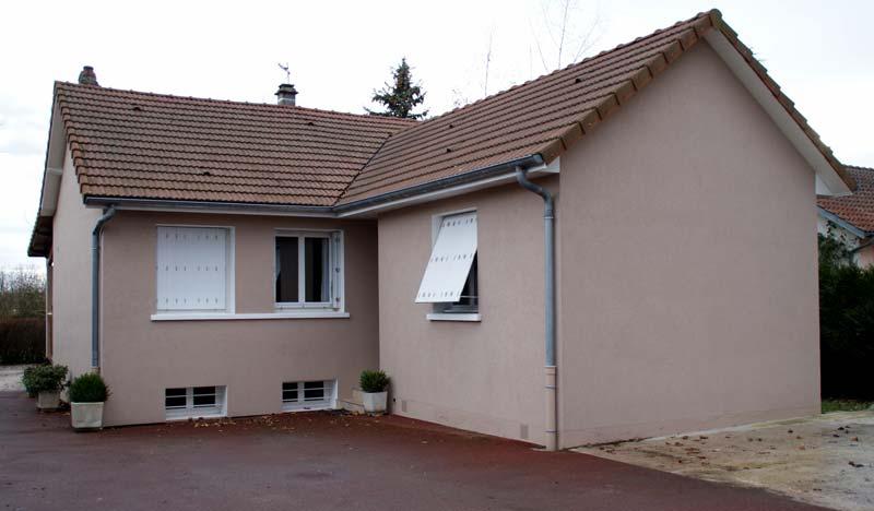 Ravalement façades clermont 63
