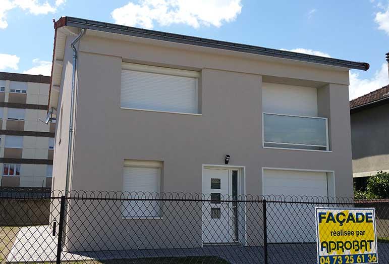 isolation extérieure façades Vichy (03)