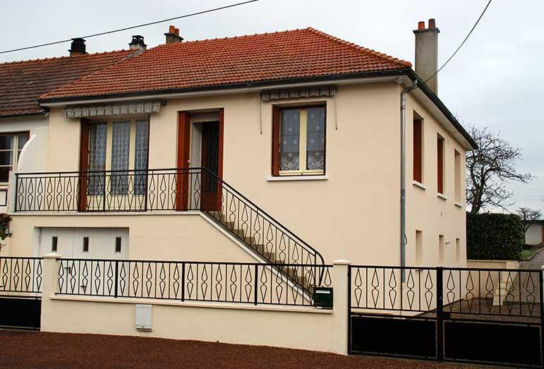 Rénovation façades Vichy